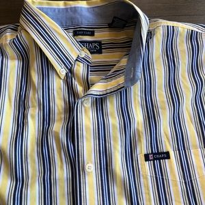 Chaps button up dress shirt